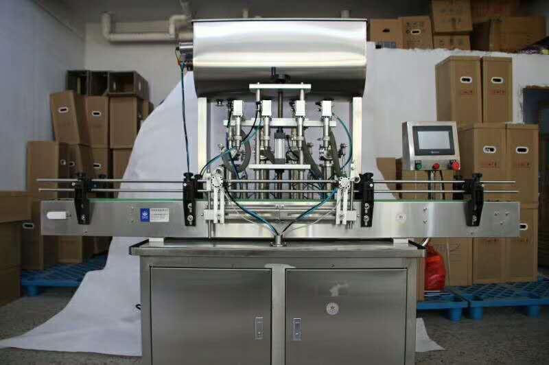 4头直线式灌装机